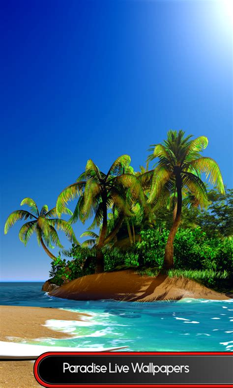paradise for android paradise live wallpapers best free android app android freeware