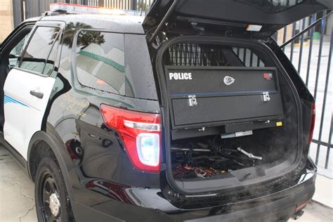 police ford suv trunk lift cabinet tactical command cabinetsllc