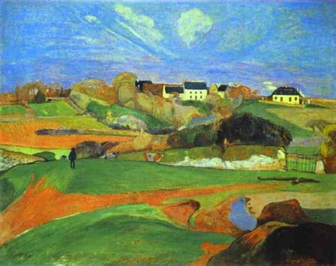 Landscape Source Gauguin Biography The Beginnings Of A And Painter