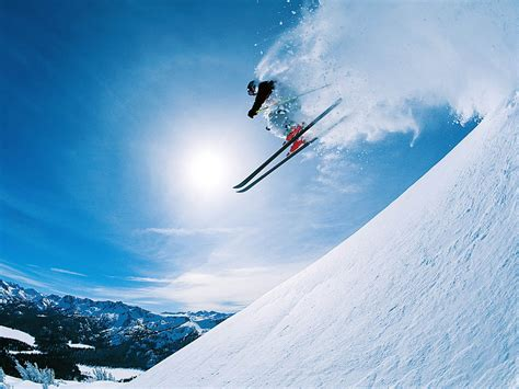 Mammoth Cornice Wallpapers Free Skiing