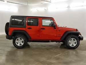 2014 jeep wrangler unlimited exterior colors available