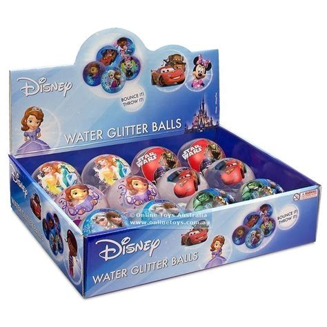 disney light disney light up water glitter 60mm assorted