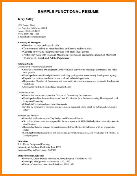 Exles Of Resumes Pdf by 9 Curriculum Vitae Sles Pdf Apply Form