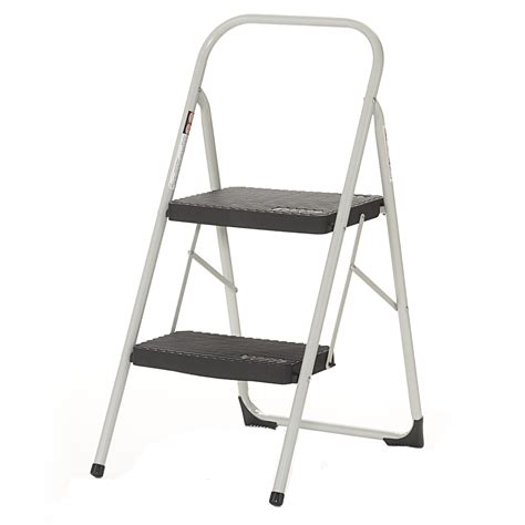 2 Step Folding Stool by Cosco Products Cosco Two Step Big Step Folding Step Stool