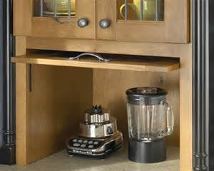 tip up pocket door appliance garage organization