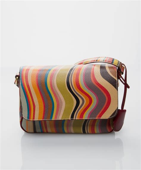 This Paul Smith Bag Looks Better If You Squint by Shop The Look Zomers Koraal Perfectly Basics