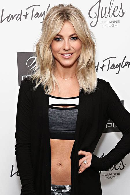 julianne hough short hairstyle blonde roots on tousled 40 images of amazing short blonde hair short hairstyles