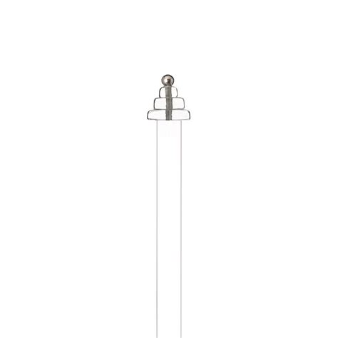 perspex curtain pole f229 50mm perspex
