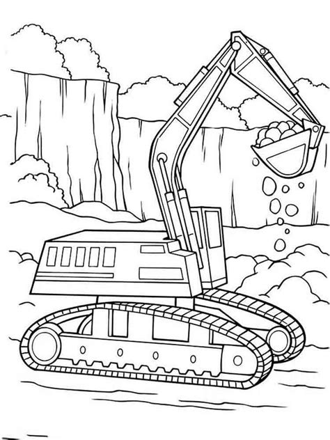 coloring book pages construction vehicles construction vehicles coloring pages download and print