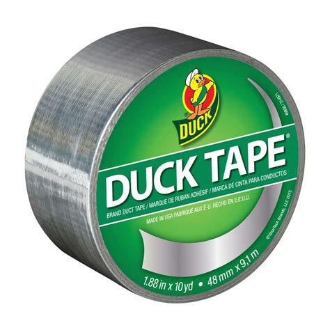 duct colors color duct chrome 1 88 in x 10 yd duck brand