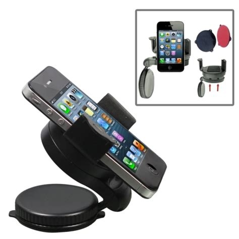 Easy Holder A6 Penyanggah Smartphone Mp3 Pda universal windshield 90 degrees rotation car holder for mobile phones gps pda psp ipod