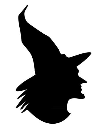 witch silhouette template the creative cubby monday with martha pumpkin carving