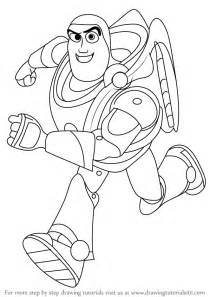 learn draw buzz lightyear toy story toy story step step drawing tutorials