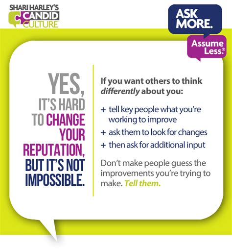 the reputation the of changing how see you books how to change your reputation at work eight steps