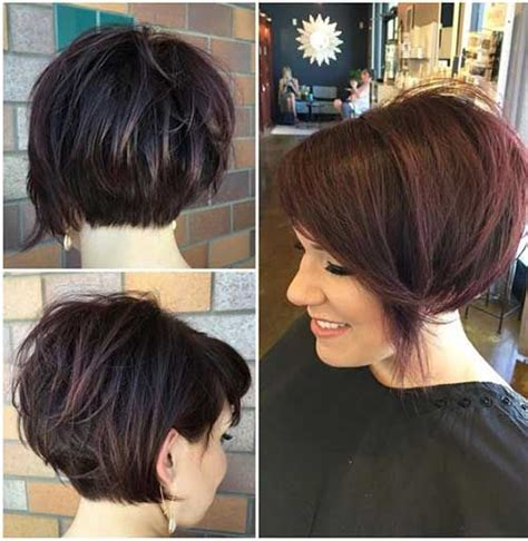 over the ear short stacked hair popular short stacked haircuts you will love short