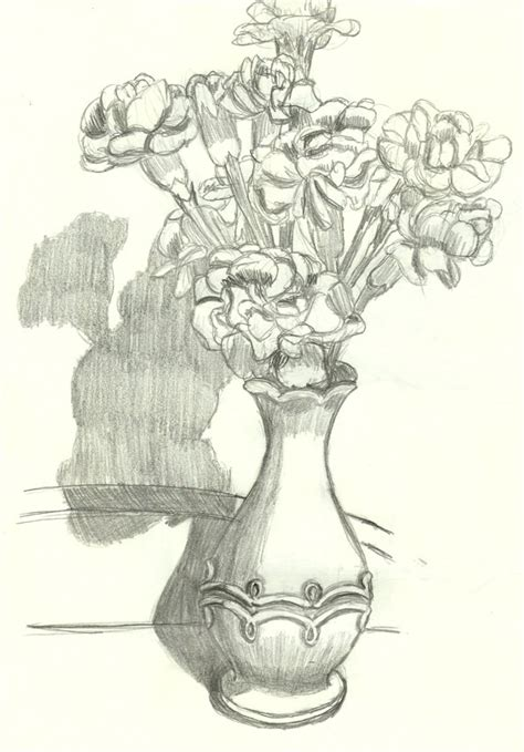 vase with flowers by neko765 on deviantart