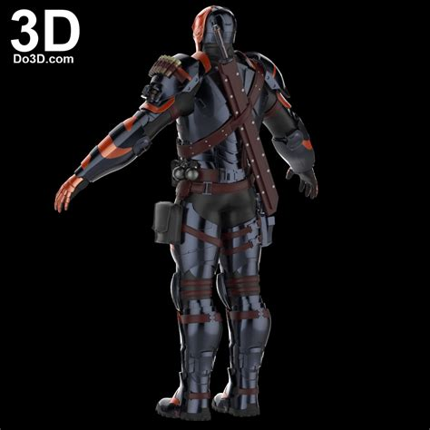 deathstroke armor template 3d printable model of deathstroke arkham costume