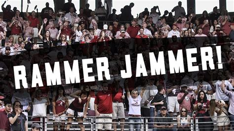 how alabama fans watched watch alabama fans take over kyle field with rammer ja
