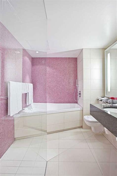 pink floor tiles for bathrooms 35 pink bathroom floor tiles ideas and pictures pink