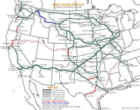 Bnsf Route Map map of bnsf railroad track pictures to pin on pinterest