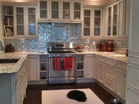 metal backsplash tiles for kitchens 33 best tin backsplash images on pinterest white