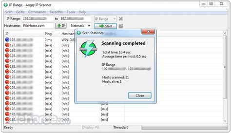 ip scan angry ip scanner 3 5 1 for windows filehorse