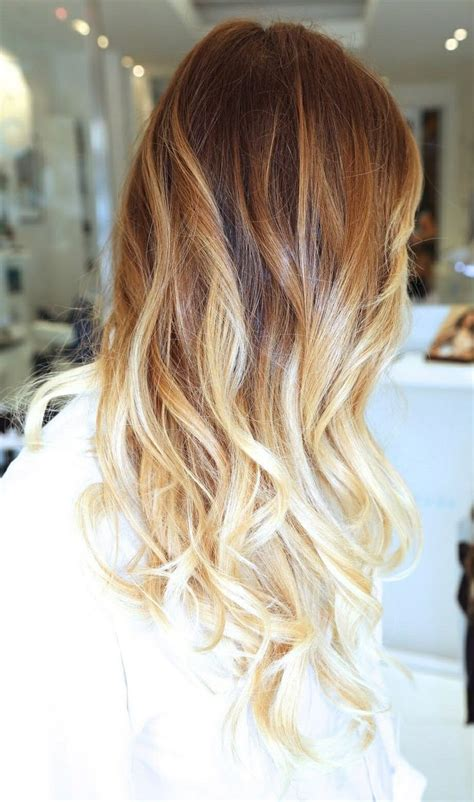 brunette to blonde ombre images pretty brown blonde ombre hair hair pinterest ombre