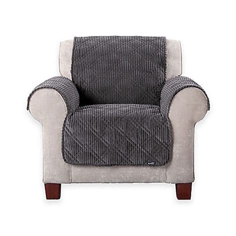 wide wale corduroy sofa sure fit 174 wide wale corduroy furniture cover in graphite