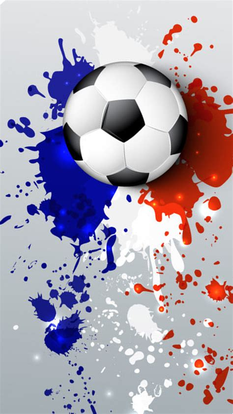soccer wallpaper  abstract france flag colors hd