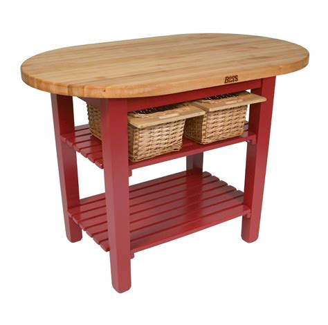 boos elliptical butcher block table c elip