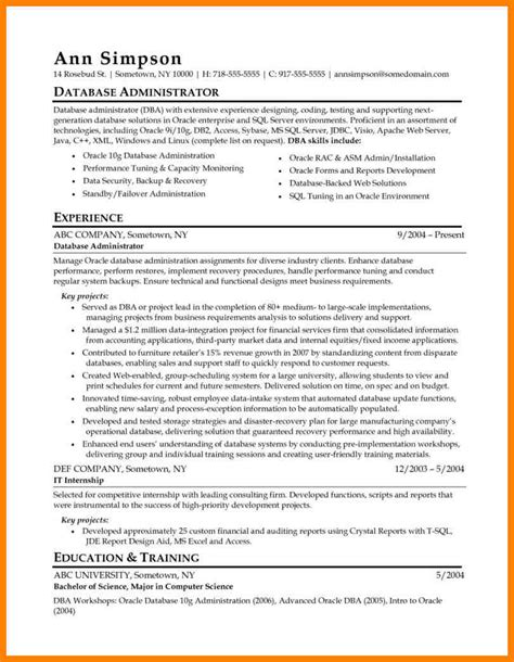 oracle performance tuning resume resume ideas