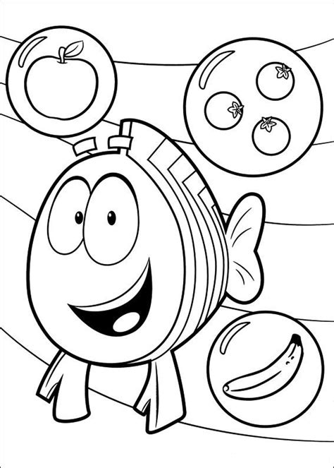 bubble guppies coloring pages nick jr free coloring pages of le bubble guppies