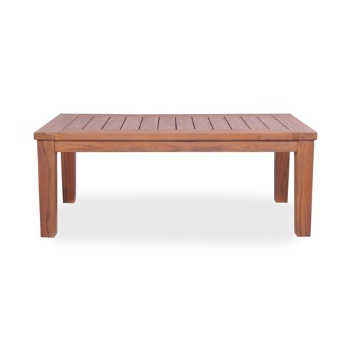lloyd flanders rectangle tapered leg cocktail table 286444