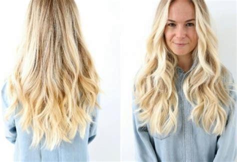 blonde frisuren blonde lange haare  weddbook
