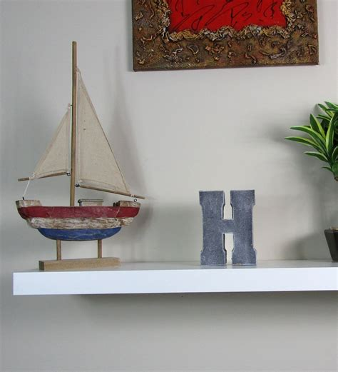 home decorative products unique home decor concrete letter h made