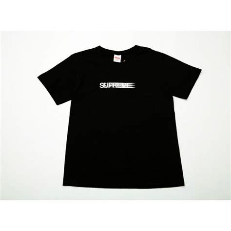 Kaos T Shirt Supreme Big Sup Black Supreme Nyc Logo T Shirt