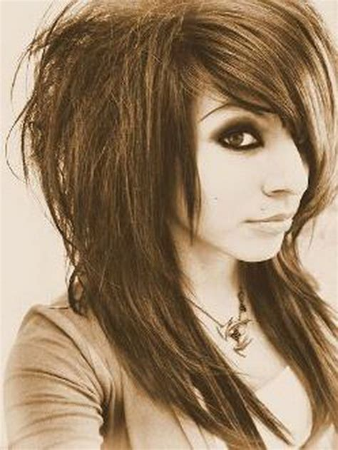 emo hairstyles for medium long hair emo layered haircut