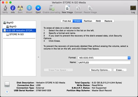 format lexar flash drive on mac how do i erase or wipe an old flash drive ask dave taylor