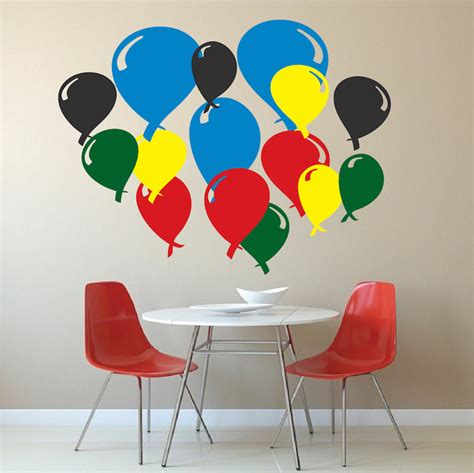 balloon wall stickers balloon wall decals