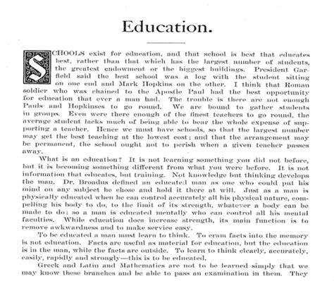 thesis about education in english exle of a reflective essay on education