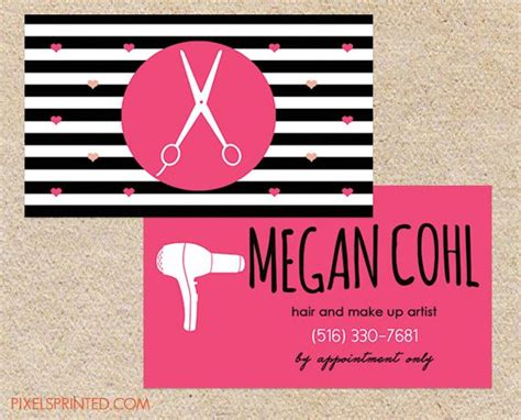 Hair Dresser Business Card by 17 Best Images About Miscellaneous Business Cards On Greeting Cards Hair