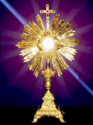imagenes de jesus sacramentado en la custodia apostolado eucar 237 stico breve historia de la fiesta del