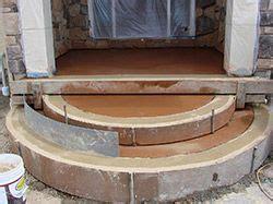 front door stone steps images  pinterest