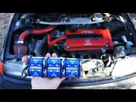 capacitor kill car battery how to charge a supercapacitor boostcap ultracapacitor 2 doovi