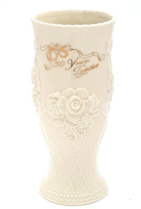 50th anniversary porcelain vase cosmos