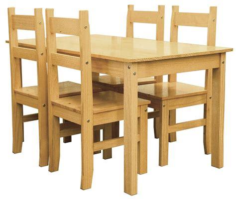 oferta de sillas de comedor oferta de mueble 187 sal 243 n comedor pino r 250 stico