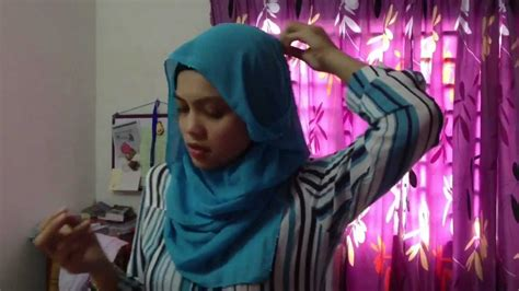 tutorial hijab gaya diana amir tutorial cara memakai tudung shawl youtube rachael edwards