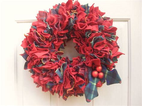 How To Make A Front Door Wreath How To Make A Rag Wreath Cool Diy Wreath Ideas With Cheap Materials