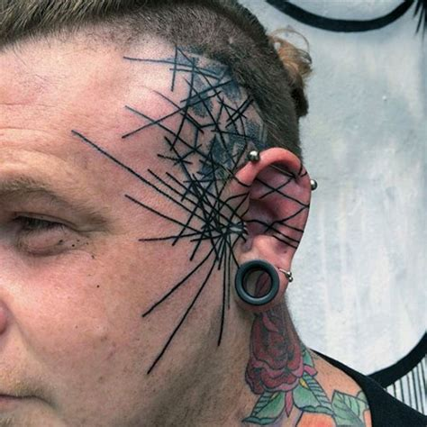 cool face tattoos 13 cool tattoos for