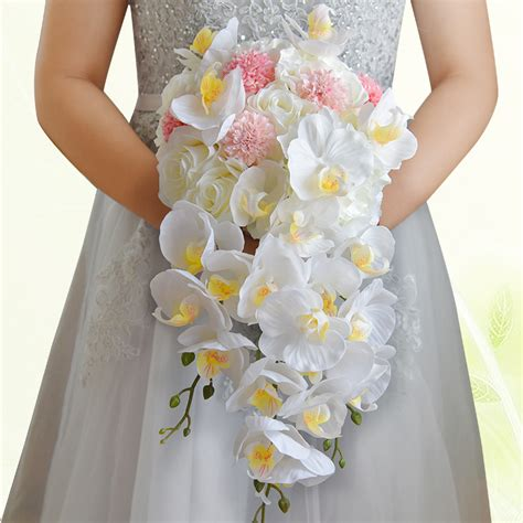 buy bridal bouquet buy wholesale cascading bridal bouquets from china